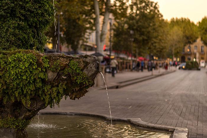 Fontaine du Cours Mirabeau