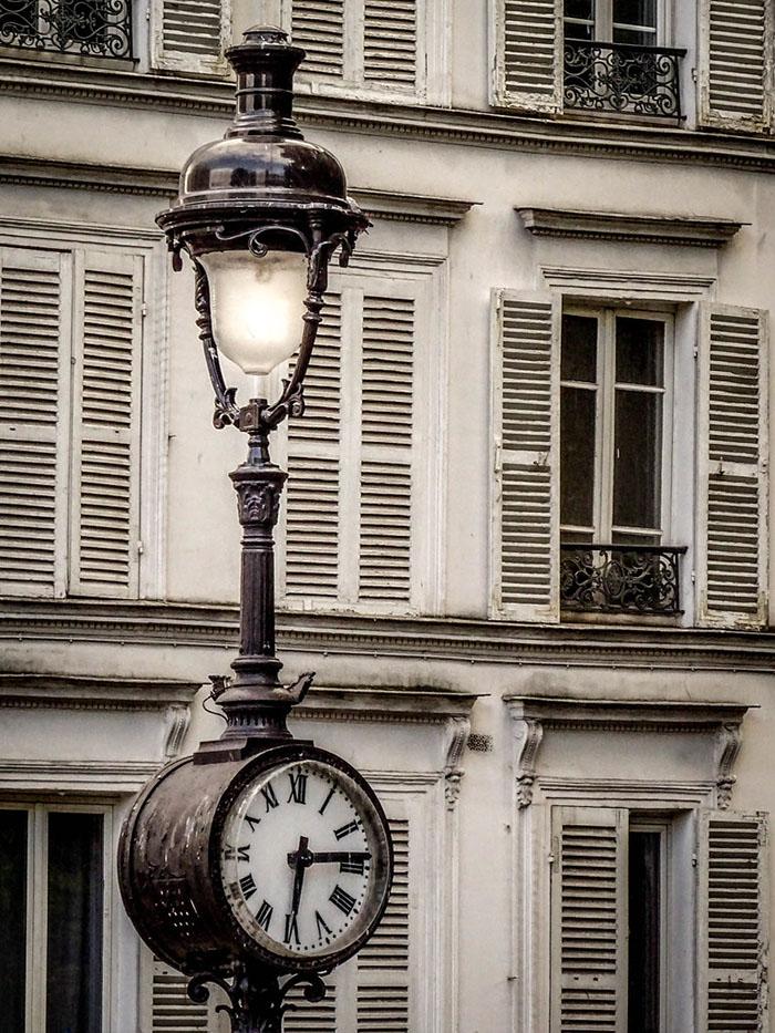Lampadaire à Montmartre